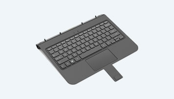 Removable keyboard