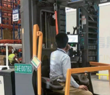 A Forklift Intelligent Management in US (1)