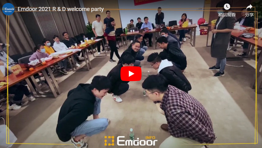 Emdoor 2021 R & D Welcome Party