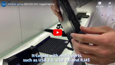 Emdoor Group Em-i22h 2in1 Rugged Laptop