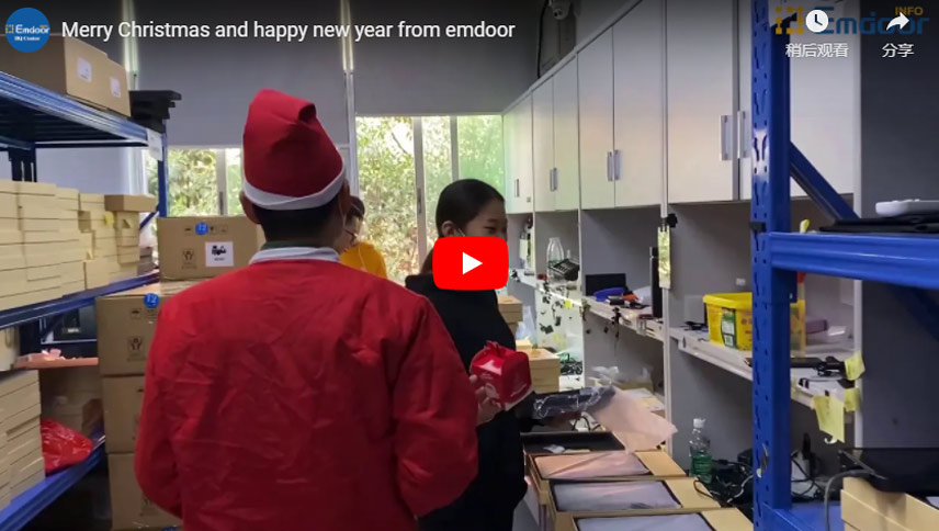 Merry Christmas And Happy New Year From Emdoor