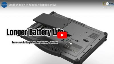 Emdoor Info X14 Rugged Notebook Show