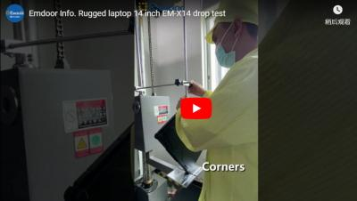 Emdoor Info. Rugged Laptop 14 Inch Em-x14 Drop Test