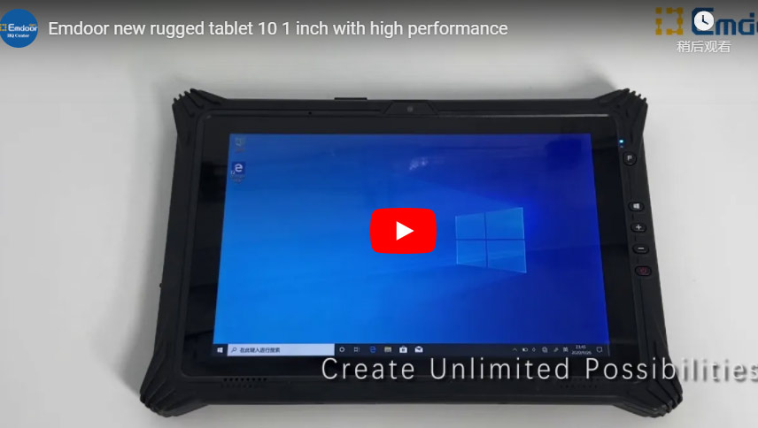 Emdoor New Rugged Tablet 10 1 Inch With High Performance