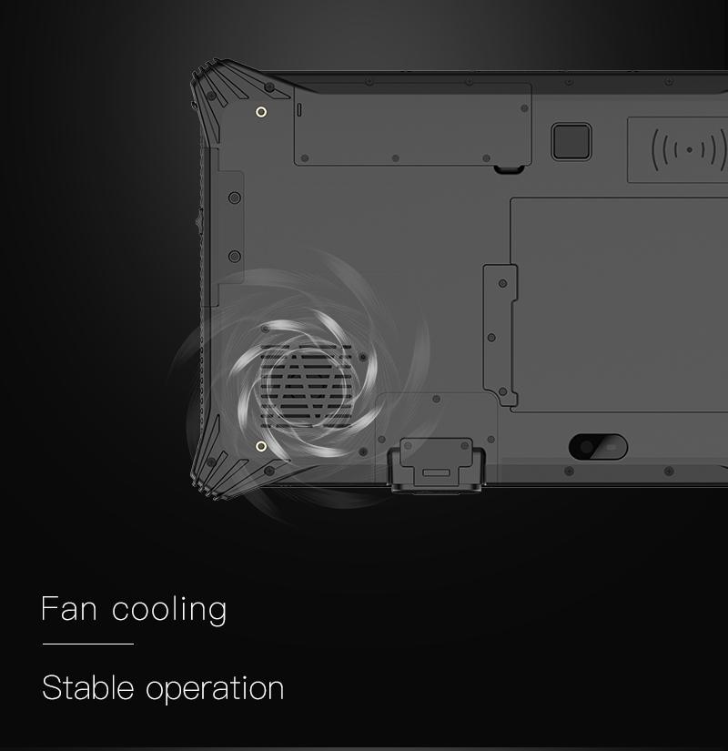 EM I10U Rugged Tablet with Fan